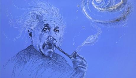 OBR.: Einstein (modrá)
