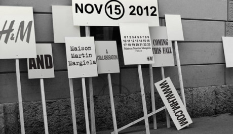 FOTO: Maison Martin Margiela pro značku H&M