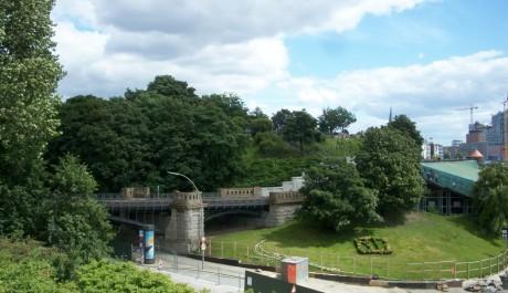 FOTO: Výhled na Elbenpark. Zdroj: Archiv Moniky Bukáčkové
