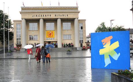 FOTO: Jiráskovo Divadlo, Hronov