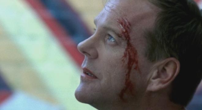 FOTO: Jack Bauer v seriálu 24 hodin