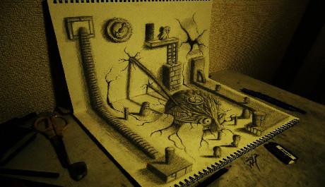 OBR: 3D kresba 3