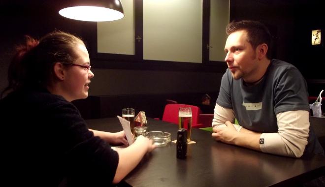 FOTO: Michal Slaný při rozhovoru pro TOPZINE.cz