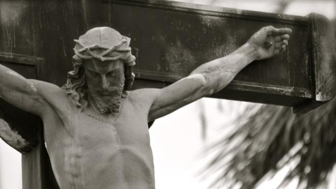 FOTO: Kristus na kříži