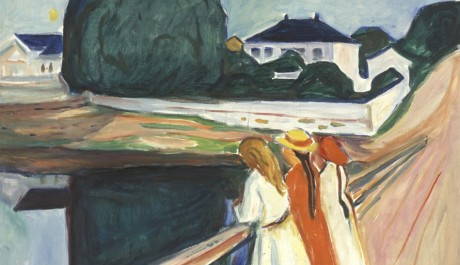 OBR: Edvard Munch - The Girls on the Bridge 1927