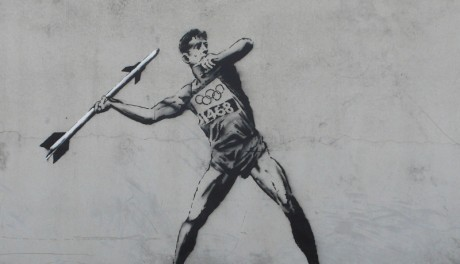FOTO: Banksy - Hackney welcomes the Olympics