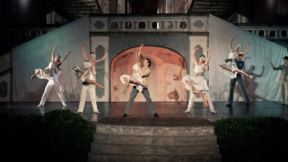 FOTO: Jihočeské divadlo předvedlo baletní podání dramatu Romeo a Julie