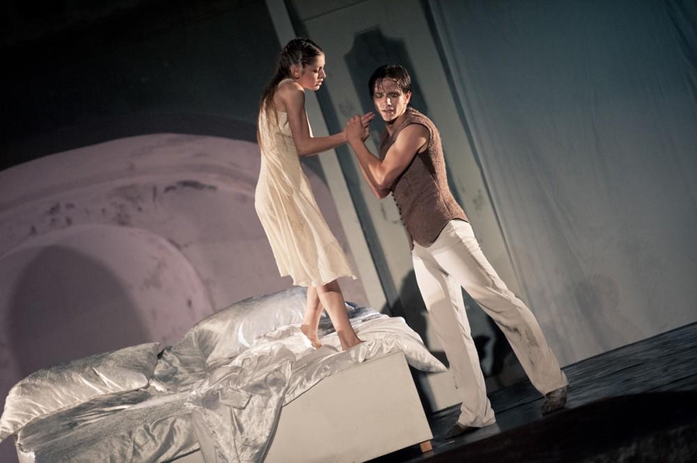 FOTO: Milostná dvojice v Shakespearově dramatu Romeo a Julie