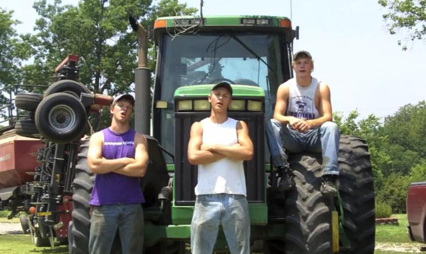 Farmáři parodují LMFAO