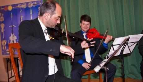 OBR: Tallichovo kvarteto hraje na Bariho housle