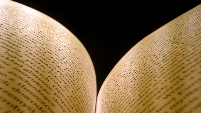 FOTO: Otevřená kniha