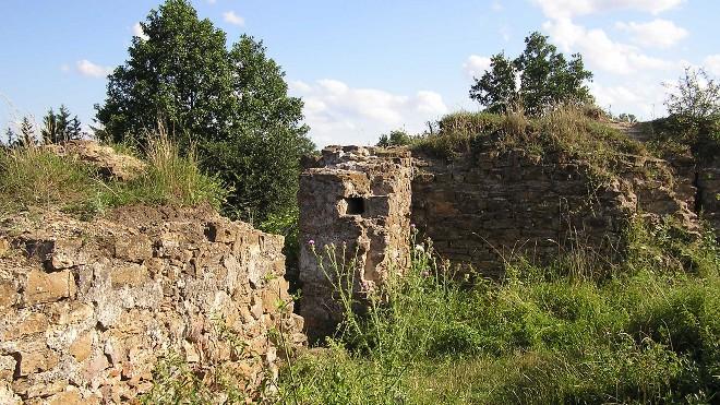 FOTO: zbytek hradu