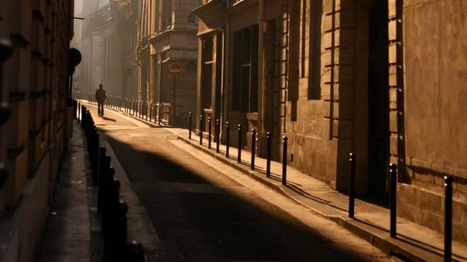 FOTO: ulička v Paříži