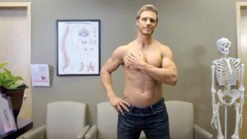 FOTO: Vyšetření prsou
