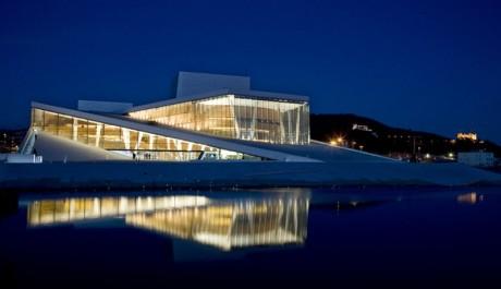 foto: Budova norské opery a baletu v Oslu