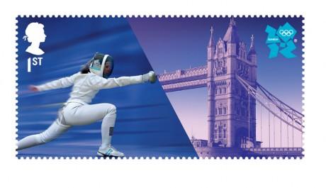 OBR: Olympijské známky Londýn 2012