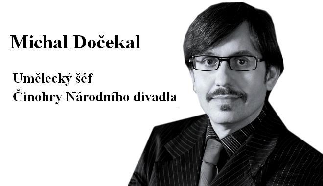FOTO: Michal Dočekal, umělecký šéf Činohry Národního divadla