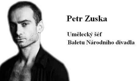 FOTO: Petr Zuska, umělecký šéf Baletu Národního divadla