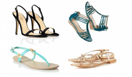 FOTO: Sandálky jsou na léto ideální