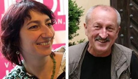 FOTO: Simona Babčáková a Oldřich Navrátil