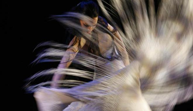 FOTO: Španělská tanečnice flamenca Belén López