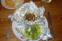 FOTO: hermelín s cuketou