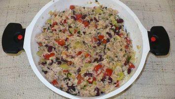 Pikantní Zeleninová rýže