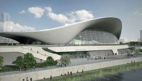 OBR: Londýnské Aquatic centre