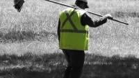 FOTO: Pracovník technických služeb