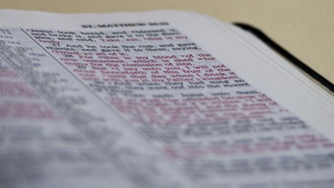 FOTO: Bible