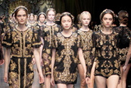 FOTO: Dolce Gabbana Fashion Show 2012