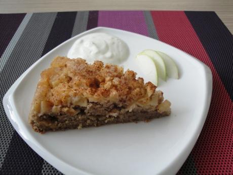 FOTO: Obrácený jablečný koláč s vůní skořice