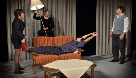 FOTO: Kazdy den stastny den, herecke kvarteto na scene