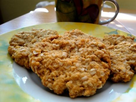 FOTO: Ovesné sušenky
