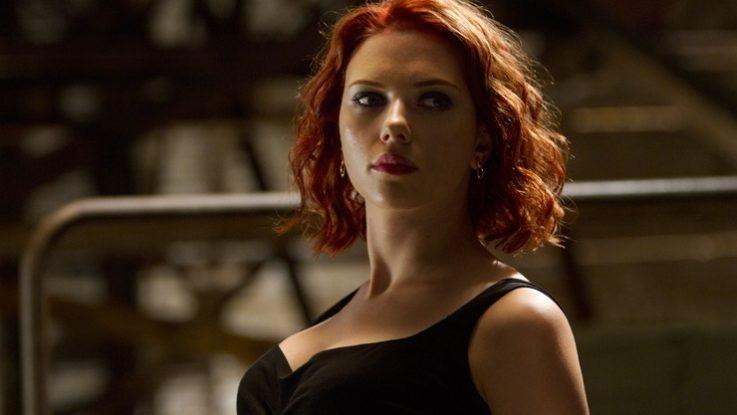 FOTO: Scarlett Johansson ve filmu Avengers