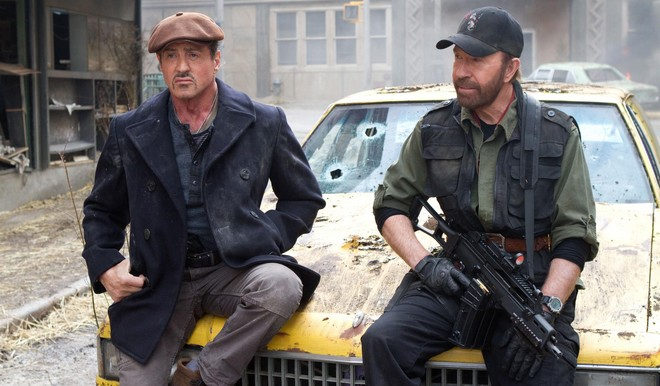FOTO: Sylvestr Stallone a Chuck Norris