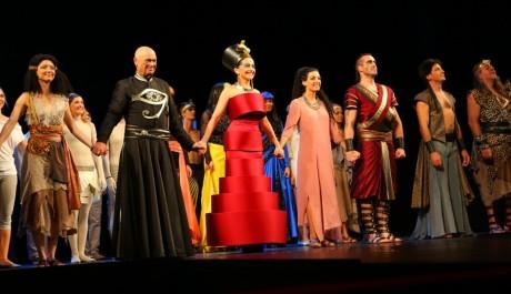 Foto: premiéra muzikálu Aida
