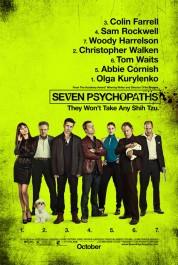 FOTO: Seven Psychopaths poster