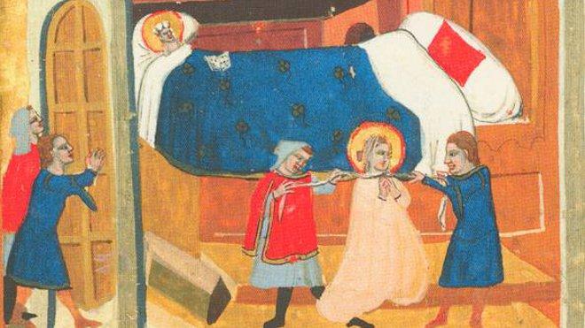 FOTO: Smrt svaté Ludmily