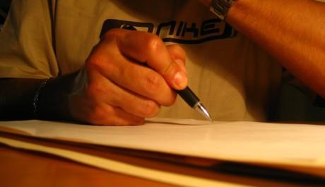 FOTO: Psaní