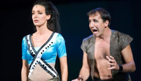 Foto: Dasha v muzikálu Aida