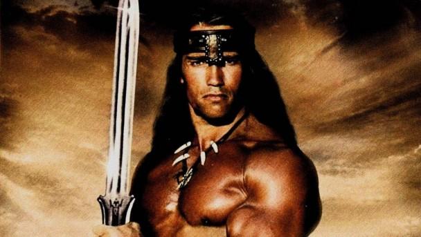 Arnold Schwarzenegger jako Barbar Conan