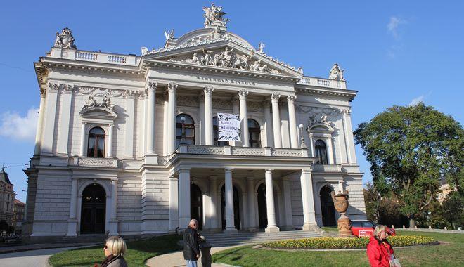 FOTO: Mahenovo divadlo v Brně