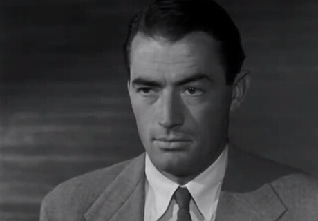 FOTO: Joe Bradley (Gregory Peck)
