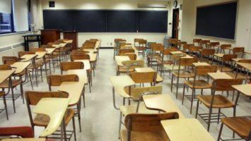 FOTO: Prázdná třída