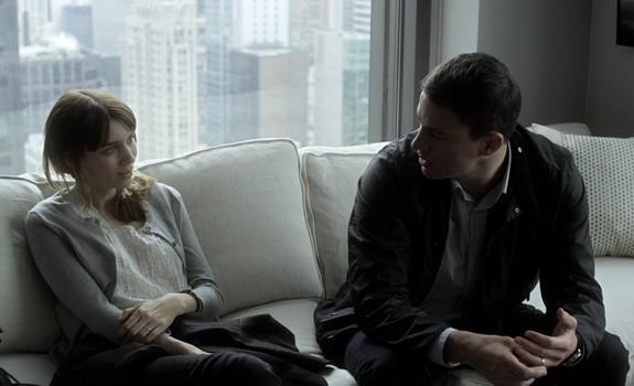 Rooney Mara a Channing Tatum ve filmu Side Effects