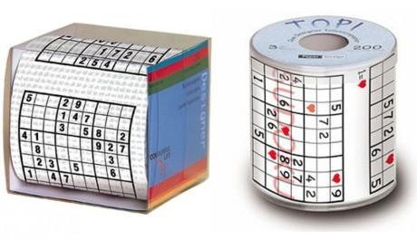 OBR: Toaletní papír sudoku