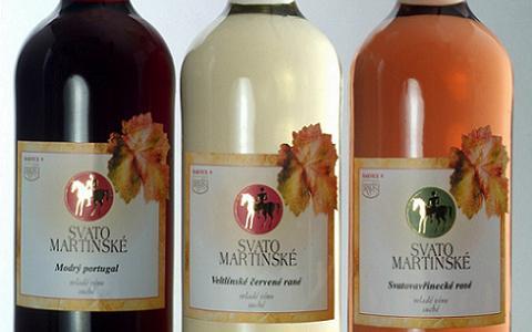 FOTO: Svatomartinské víno