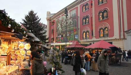 FOTO: Vánoční trhy v Praze