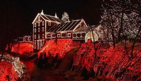 FOTO: Vánoční výzdoba v Severní Americe.